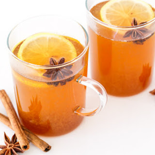 Spiced Chamomile Hot Toddy.