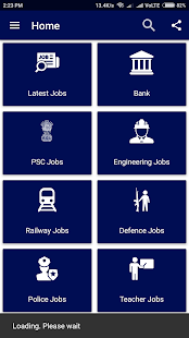 Job Alert for All govt jobs app 2018 Search - náhled