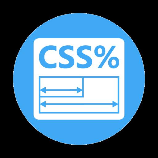 CSS Percent Calculator