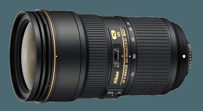 Nikon 24-70mm f / 2.8 VR