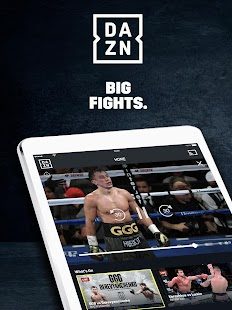 DAZN Live Fight Sports: Boxing, MMA & More Screenshot