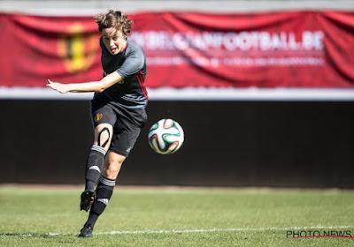 """Imke Courtois maakt zich zorgen over Belgisch vrouwenvoetbal, maar heeft ook een voorstel: """"Laat dat zien op televisie"""""""
