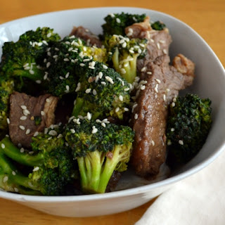 Garlic and Ginger Beef with Broccoli (Gluten Free, Soy Free).