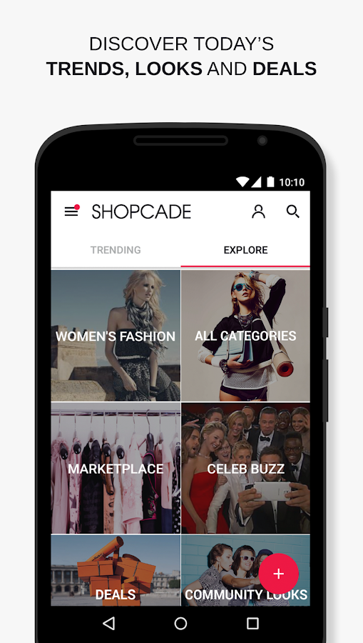 Shopcade- screenshot