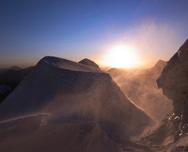 Photo: Windy bivouac on the first ascent of Peak Alexandra in Kyrgyzstan