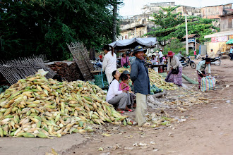 Photo: Year 2 Day 40 - Market in Moung Ruessie #3