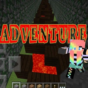Parkour Adventure MCPE Mod screenshot