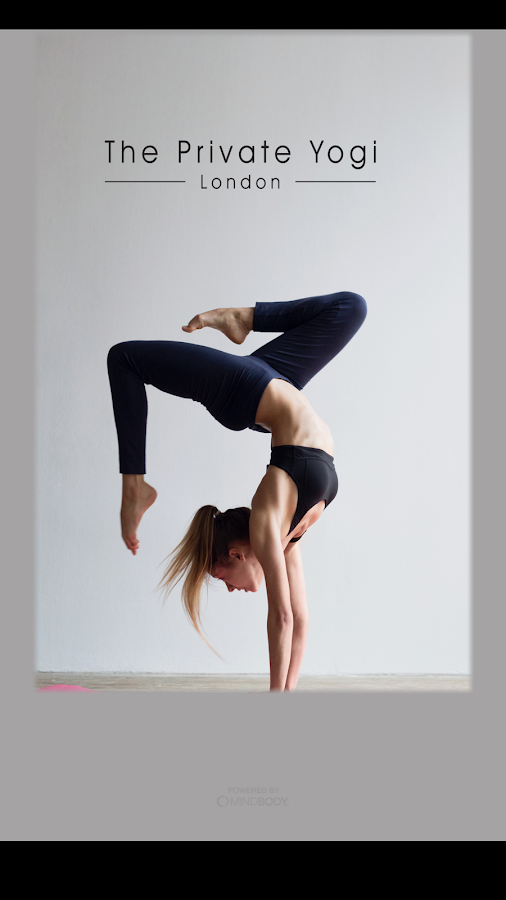 The Private Yogi App- screenshot