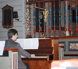 """Photo: Aure kyrkje, """"Operakvelden"""", 26. november 2008"""