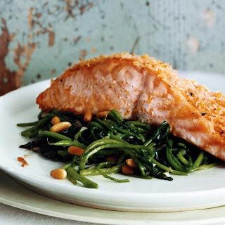 Buffalo Salmon recipe | Epicurious.com.