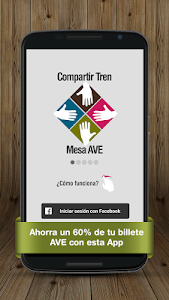 Billetes Tren Mesa AVE Renfe screenshot 0