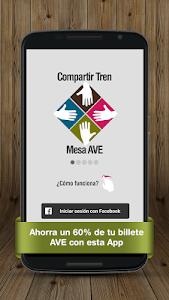 Billetes Tren Mesa AVE Renfe screenshot 0