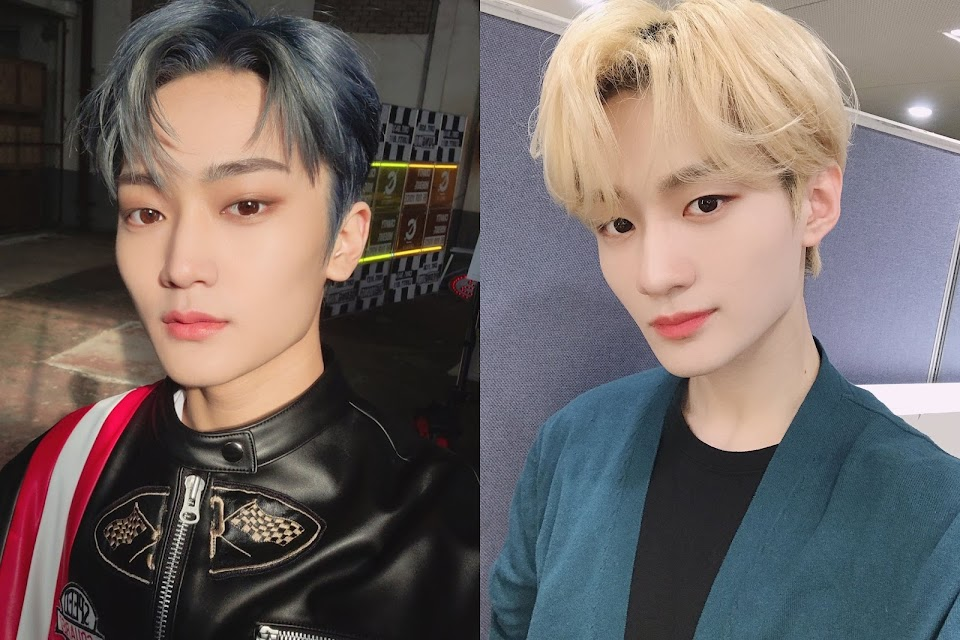 verivery yongseung cravity taeyoung blond hair lookalike 1