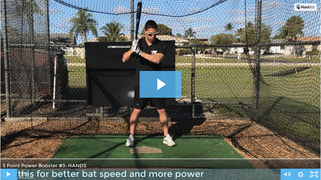 How to hit for more power - more powerful baseball swing and hit the ball further - pro tips video 3