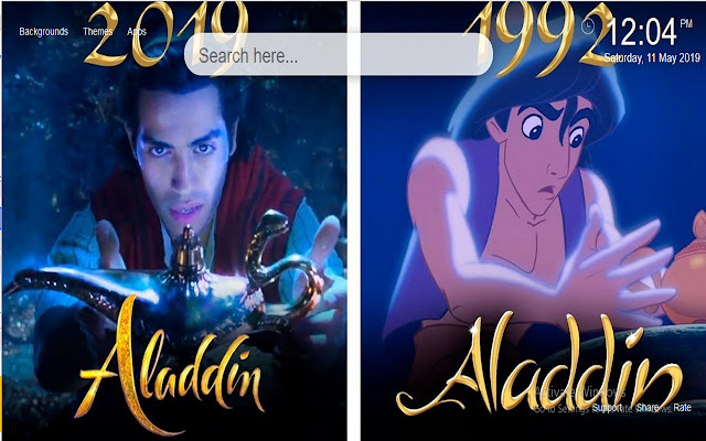 Aladdin 2019 Wallpapers HD New Tab