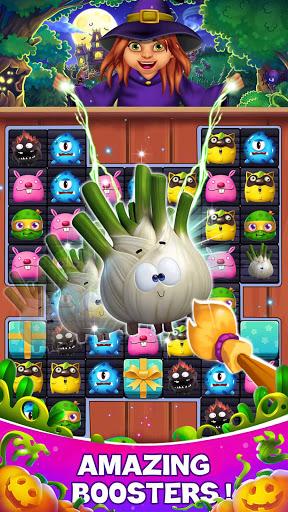 halloween mania - match 3 screenshot 1
