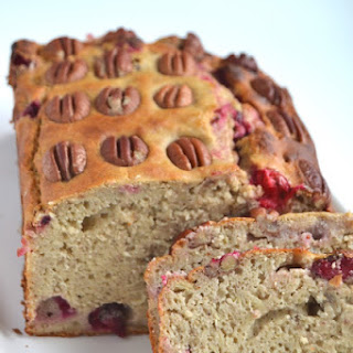 Cranberry Pecan Banana Bread