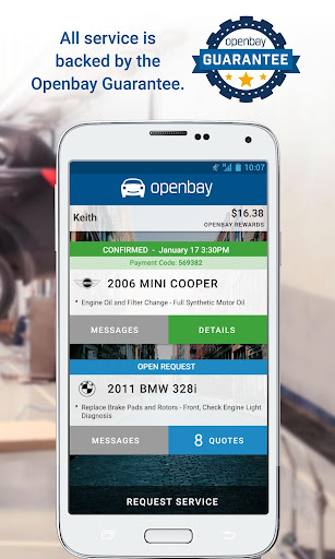 Openbay - Car Auto Repair Screenshot