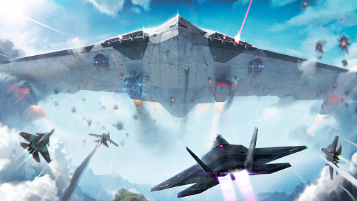 Modern Warplanes: Sky fighters PvP Jet Warfare apktram screenshots 1