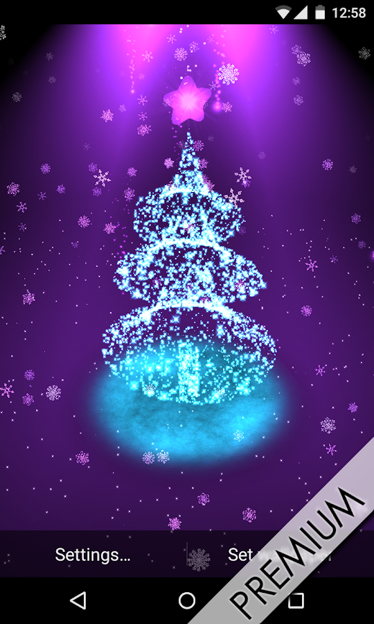 Christmas Tree Live Wallpaper pictures