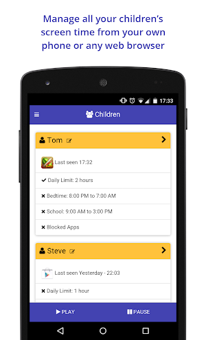 15 Screen Time Parental Control App screenshot