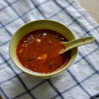Naatu Kozhi Rasam / Chicken Rasam - Soup