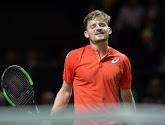 Classement ATP: Goffin remonte de deux places, Federer réintègre le top trois