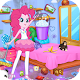 Princess Pink Go Clean Room APK