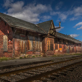 old train station by Gigi Kent - Buildings & Architecture Decaying & Abandoned