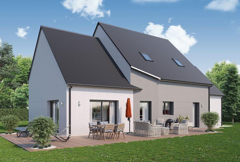 Vente Terrain + Maison - Terrain : 1000m² - Maison : 146m² à Channay-sur-Lathan (37330)