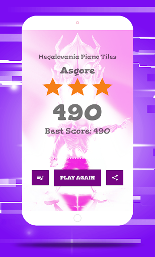 Megalovania Piano Tiles Game android2mod screenshots 4