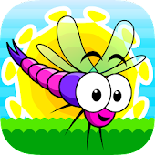 Dragonflies: Draw Rescue Paths