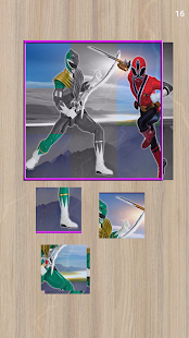 Jigsaw Power Rangers Hero - náhled