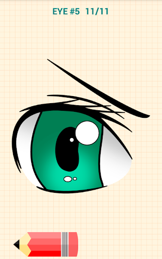 How to Draw Anime Eyes 5.1 Screenshots 6