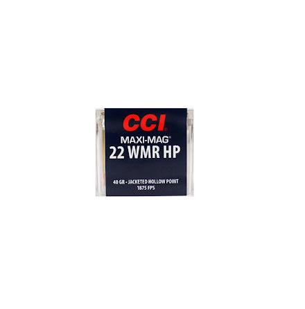 CCI 22 WMR HP 40 grain