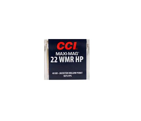 CCI 22WMR HP 40 gr