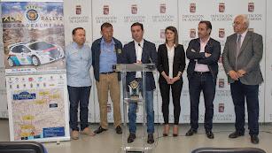 Javier Aureliano García Molina presentado el rallye