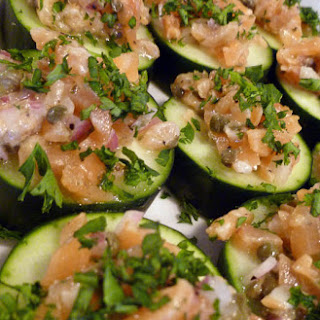 Smoked Salmon and Cucumber Appetizer Recipe