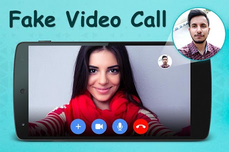 Fake Video Call : Girlfriend FakeTime prank App Download For Android 1