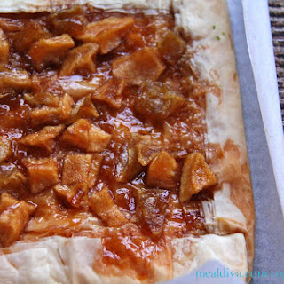 Easy Phyllo-Apple Tart
