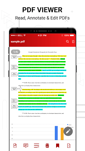PDF reader screenshot 2