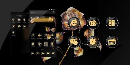 Gold Roses Theme