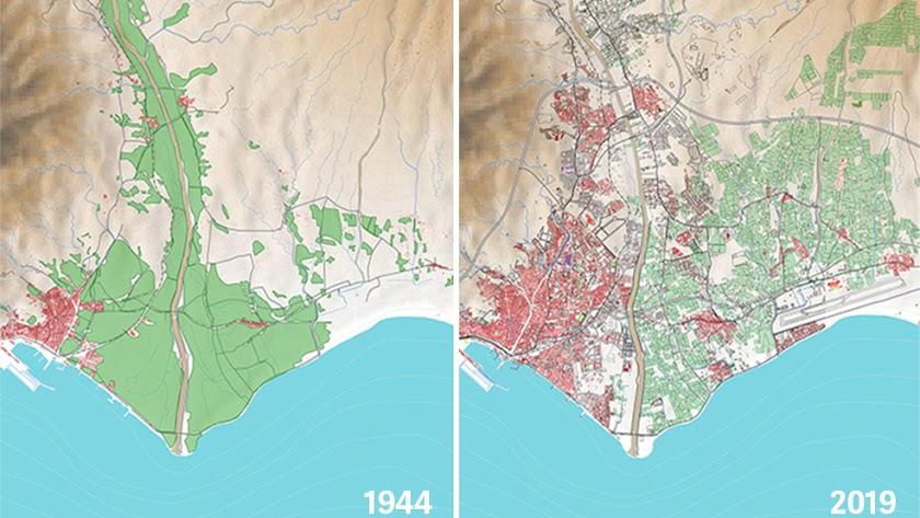 Almería y sus vegas (1944-2019).