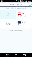 Screenshot of Nordea Mobile Bank - Denmark