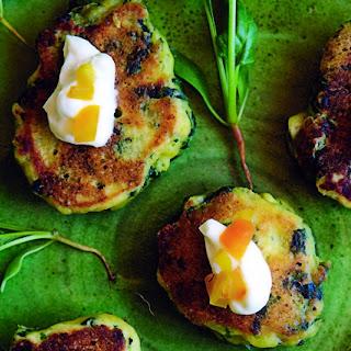 Veggie Cakes Recipe With Chard, Ricotta And Saffron
