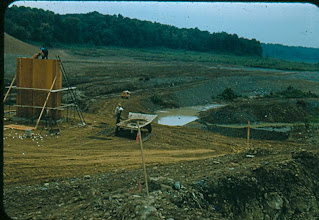 Photo: Outlet Structure August 15th, 1955