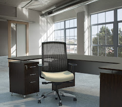 Photo: GS33F2SVRELT shown with Medina Desking Mocha