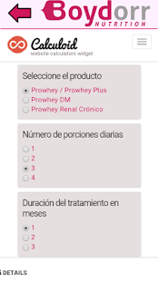 Prowhey Data - náhled