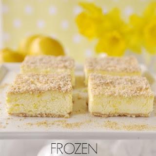 Frozen Lemon Dessert.
