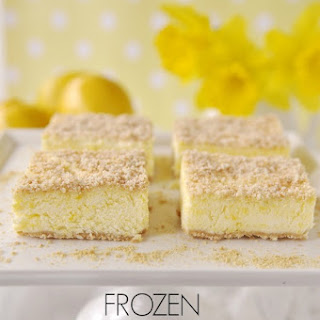 Frozen Lemon Dessert.